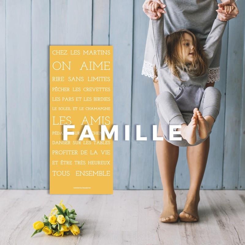 Panneau (Univers Famille)