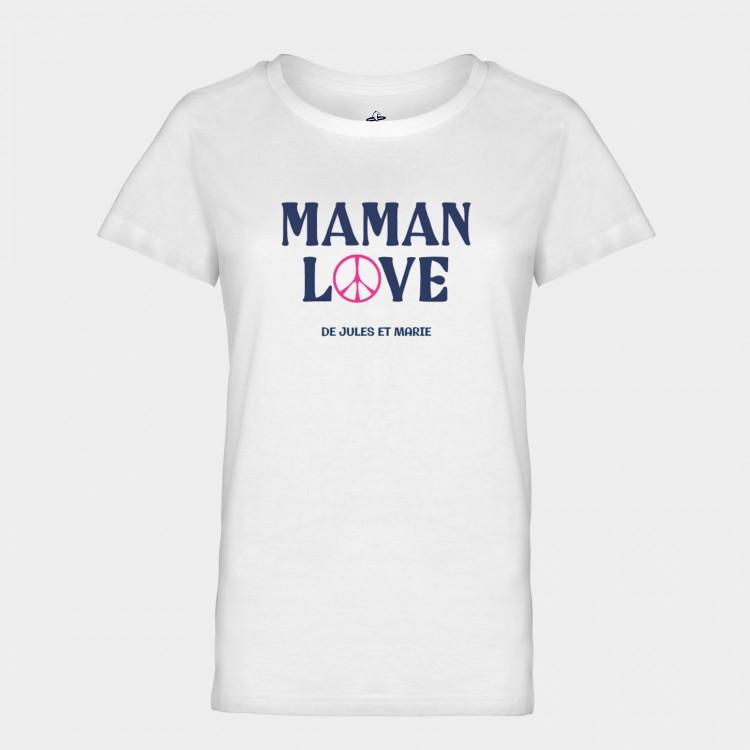Tee-shirt Maman Rock