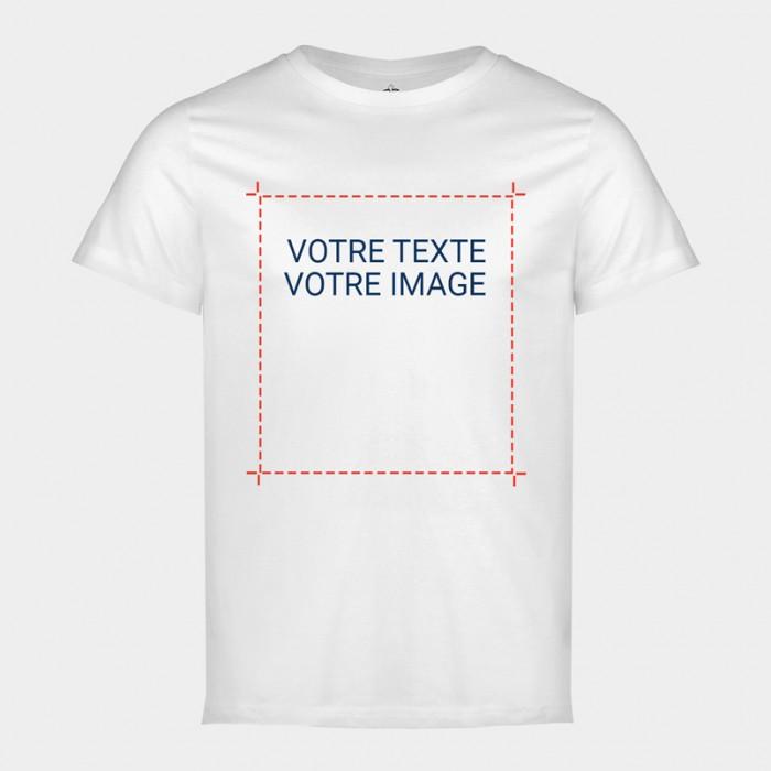 Tee-shirt Blanc - Partir de zéro