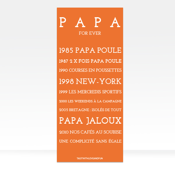 Panneau_Tag-it-with-love-and-fun_Papa-Poule